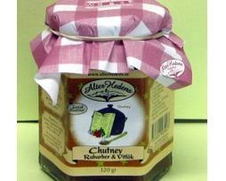 chutney rabarber vitlök
