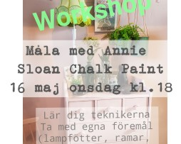 Annie Sloan workshop