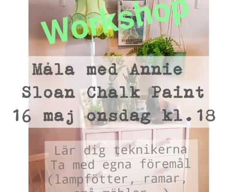 Annie Sloan workshop