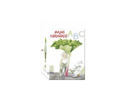 Majas trädgårds abc bok
