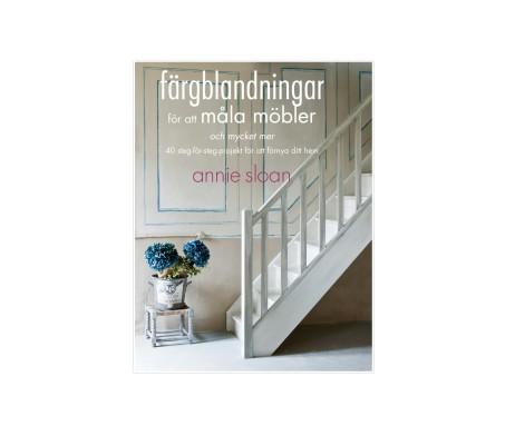 Annie sloan bok färgblandningar för att måla möbler