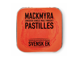 Mackmyra whisky pastiller svensk ek