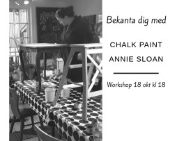 Workshop kurs Annie sloan