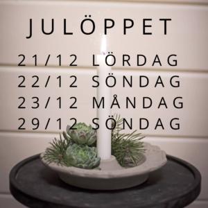julöppet 2019 kallaxgårdsbutik