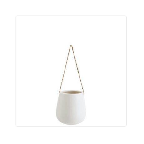 hängande vit vas