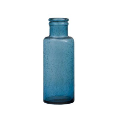 Glasvas blå