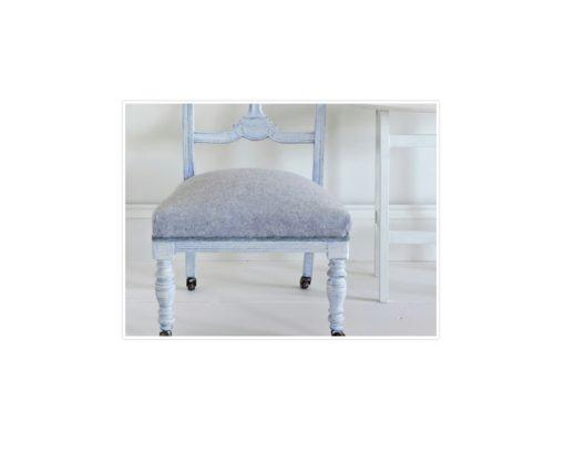 Wax vitt annie sloan chalk paint stol