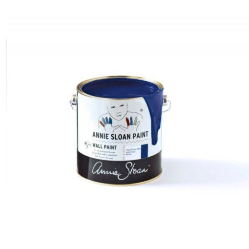 Wallpaint annie sloan napoleon blue