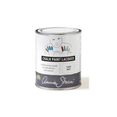 Annie Sloan Chalk Paint Laquer Lack clear matt