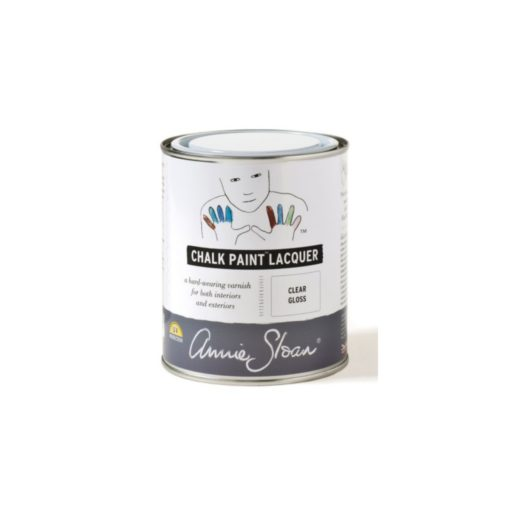 chalk paint laquer lack clear gloss