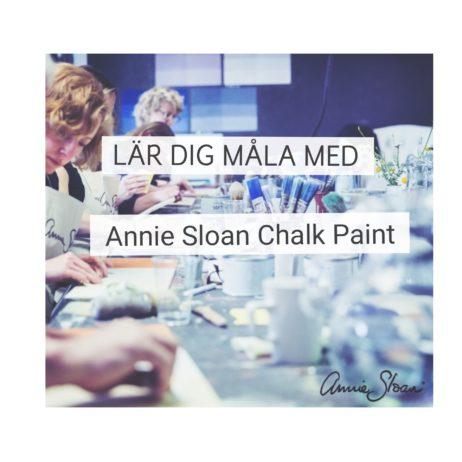 introduktionskurs grundkurs annie sloan chalk paint