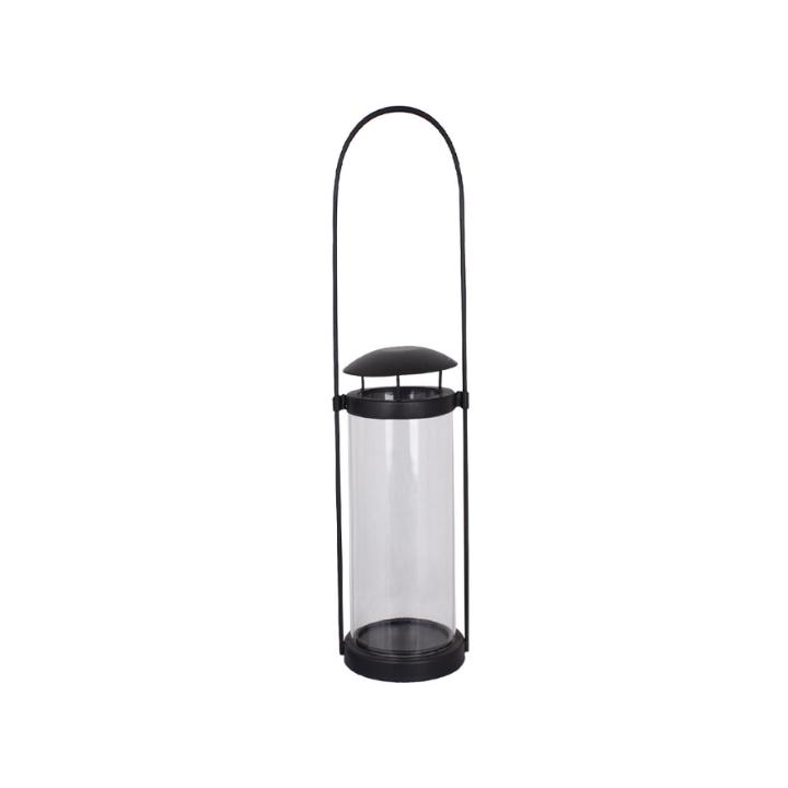 kallaxgardsbutik-ljuslykta-hängande-svart-metall-glas-