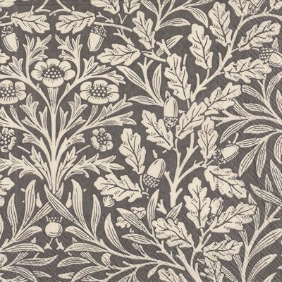 William-Morris-servett-napkin-grey-linen-lunch