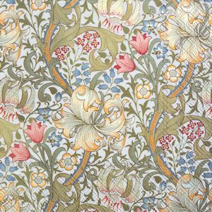william-morris-golden-lilly-white-lunch-dukning