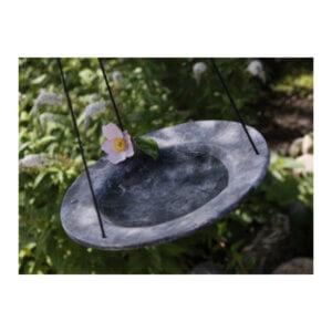 fagelbad-stort-svart-gratt-snoren-tradgard-trad-fagel-humla-bin-dekor